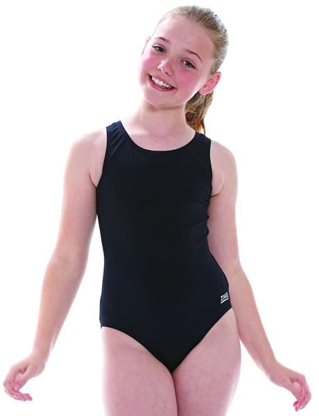 Zoggs Junior Girls Cottesloe Sportsback - Black