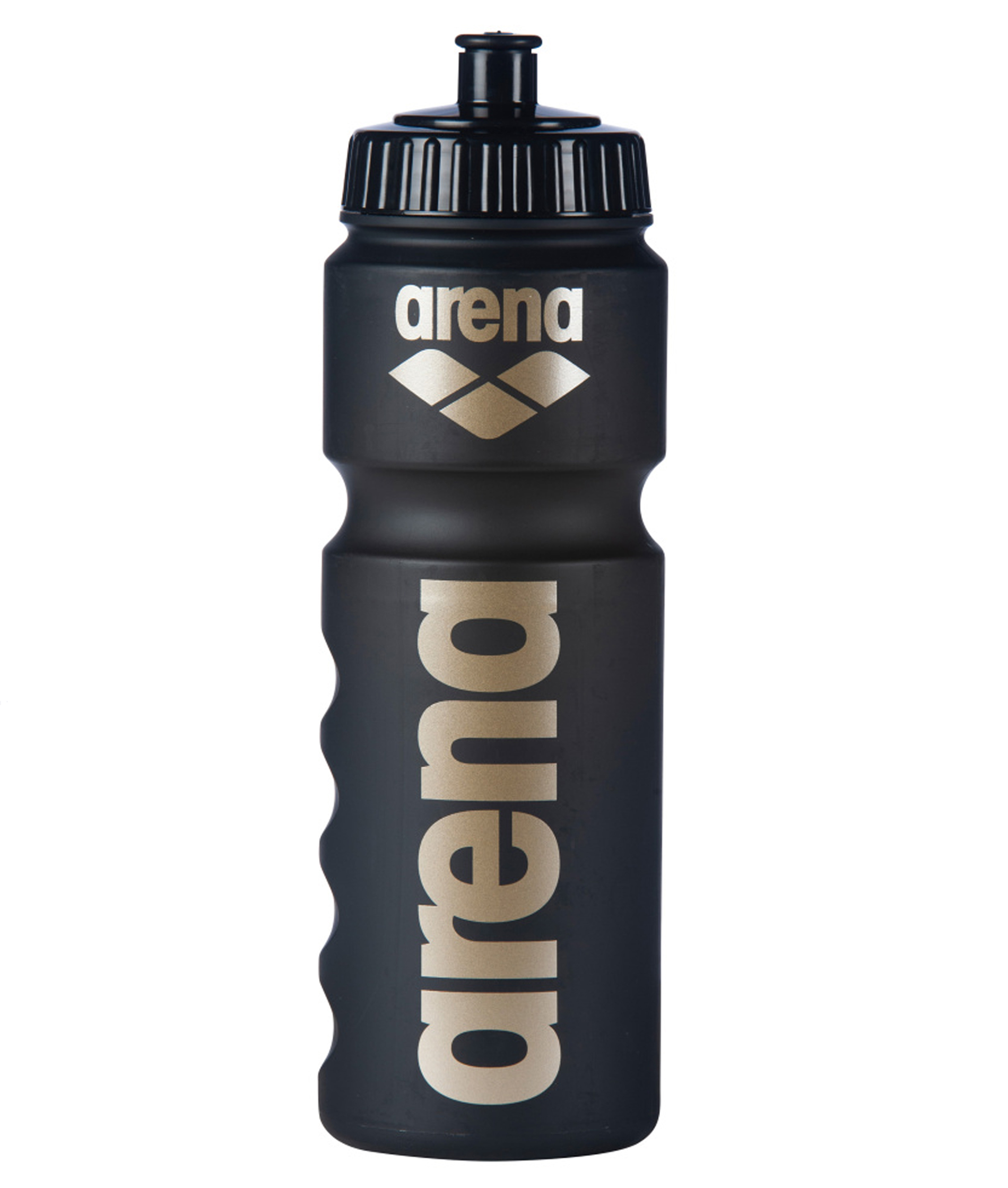 Arena 750ml Water Bottle - Black/Gold