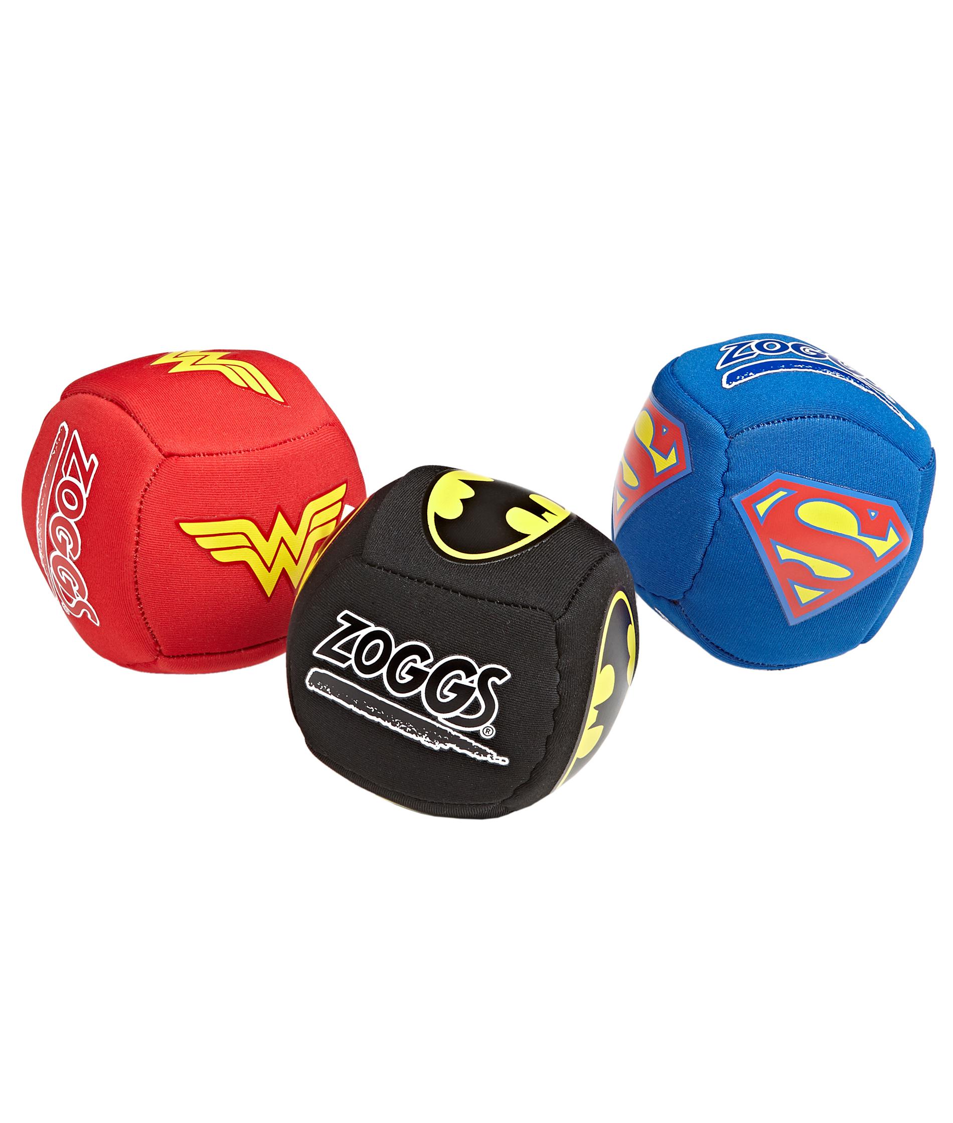 Zoggs Super Heroes Splash Balls - Assorted 3 pack