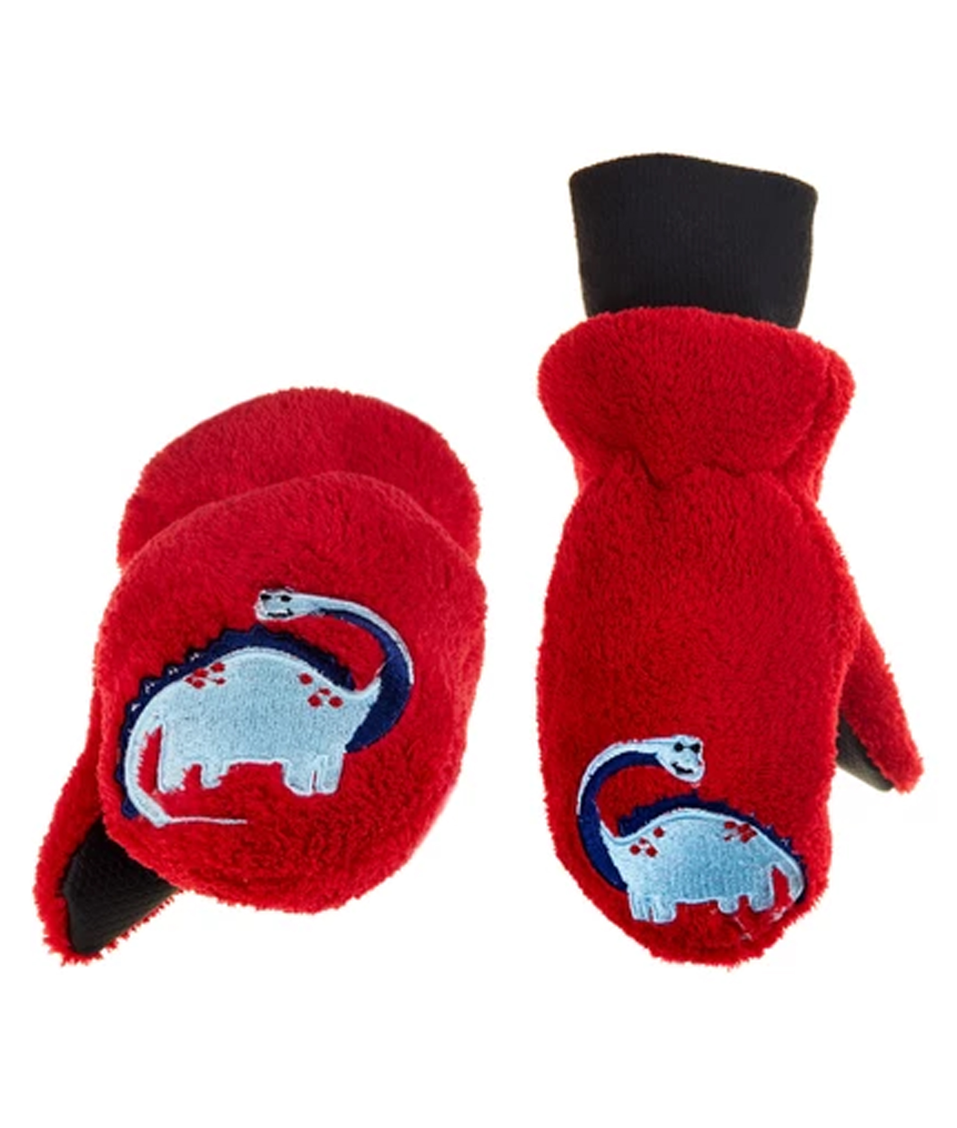 Flapjack Kids Puppet Mittens - Red Dino