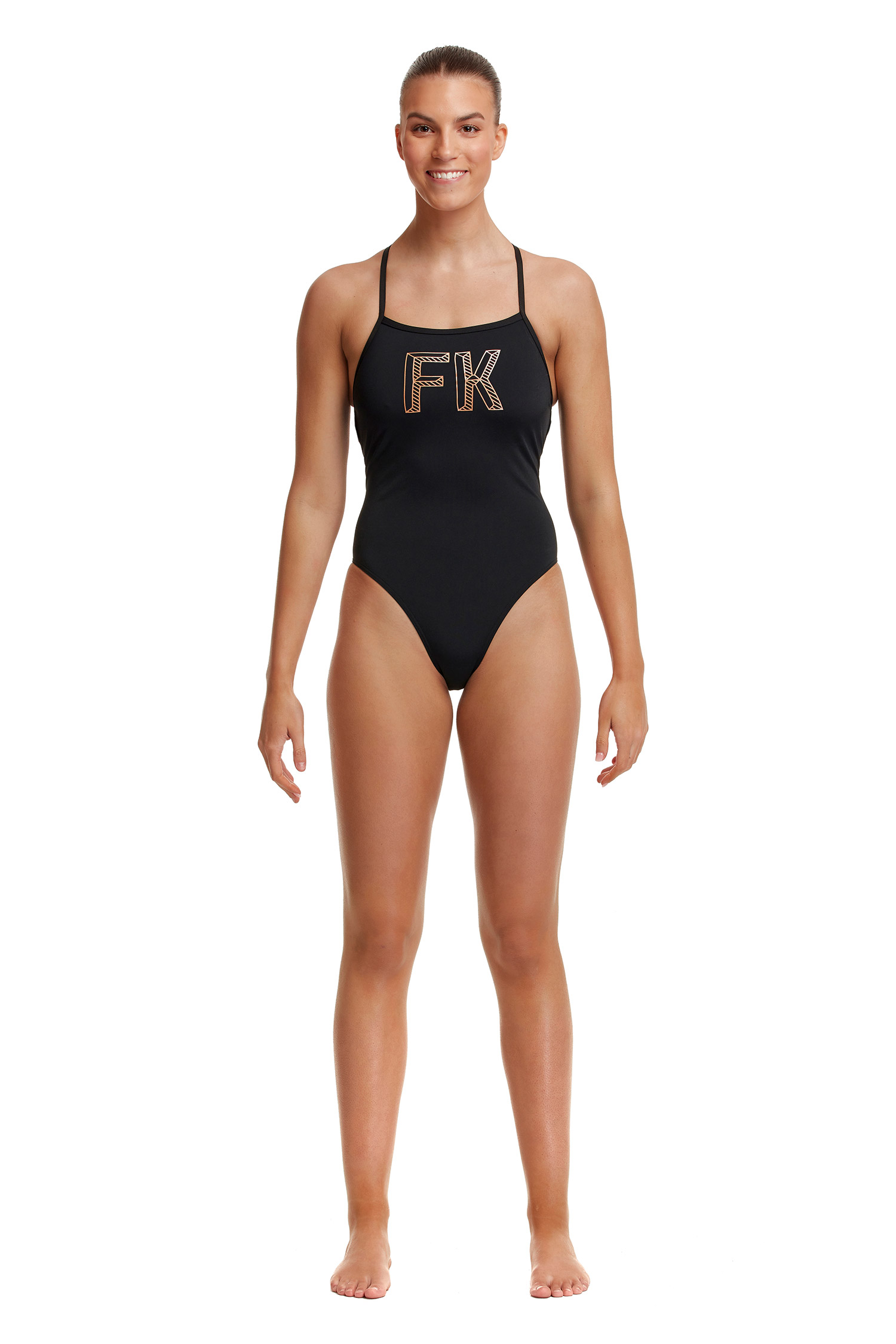 Funkita Ladies Stencilled Strapped In One Piece