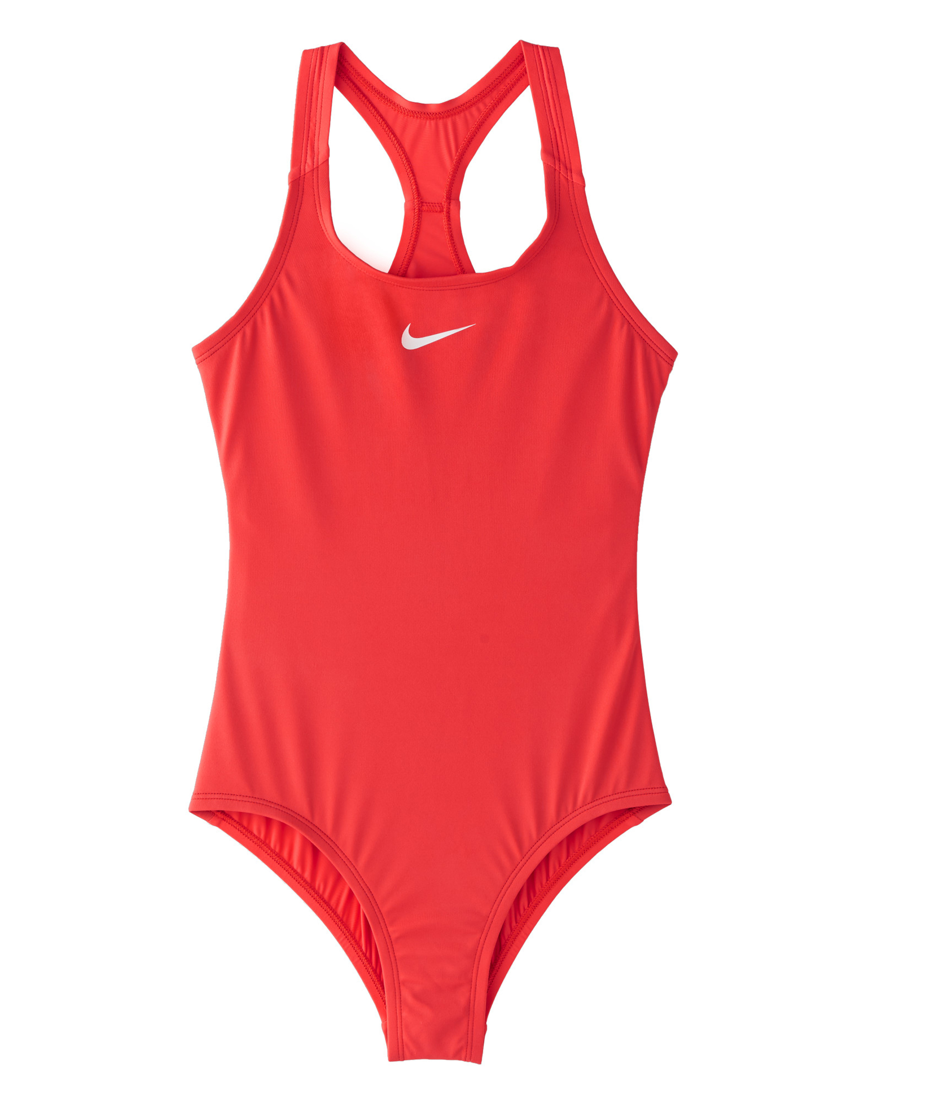 Nike Swim Girls Solid Racerback One-Piece - Ember Glow