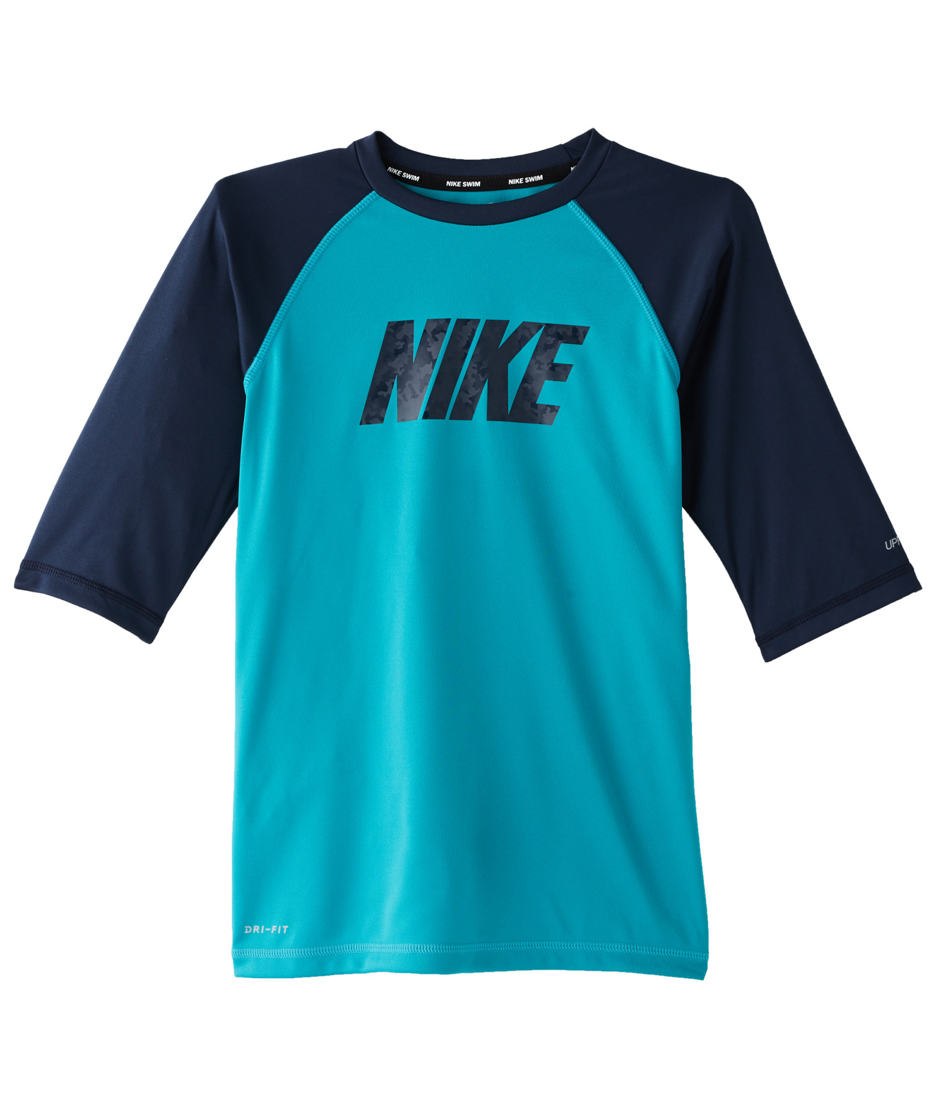 Nike Boys Short Sleeve Hydroguard - Teal