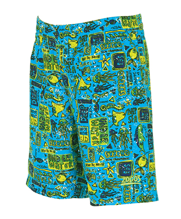 Zoggs Boys Deep Sea Watershorts