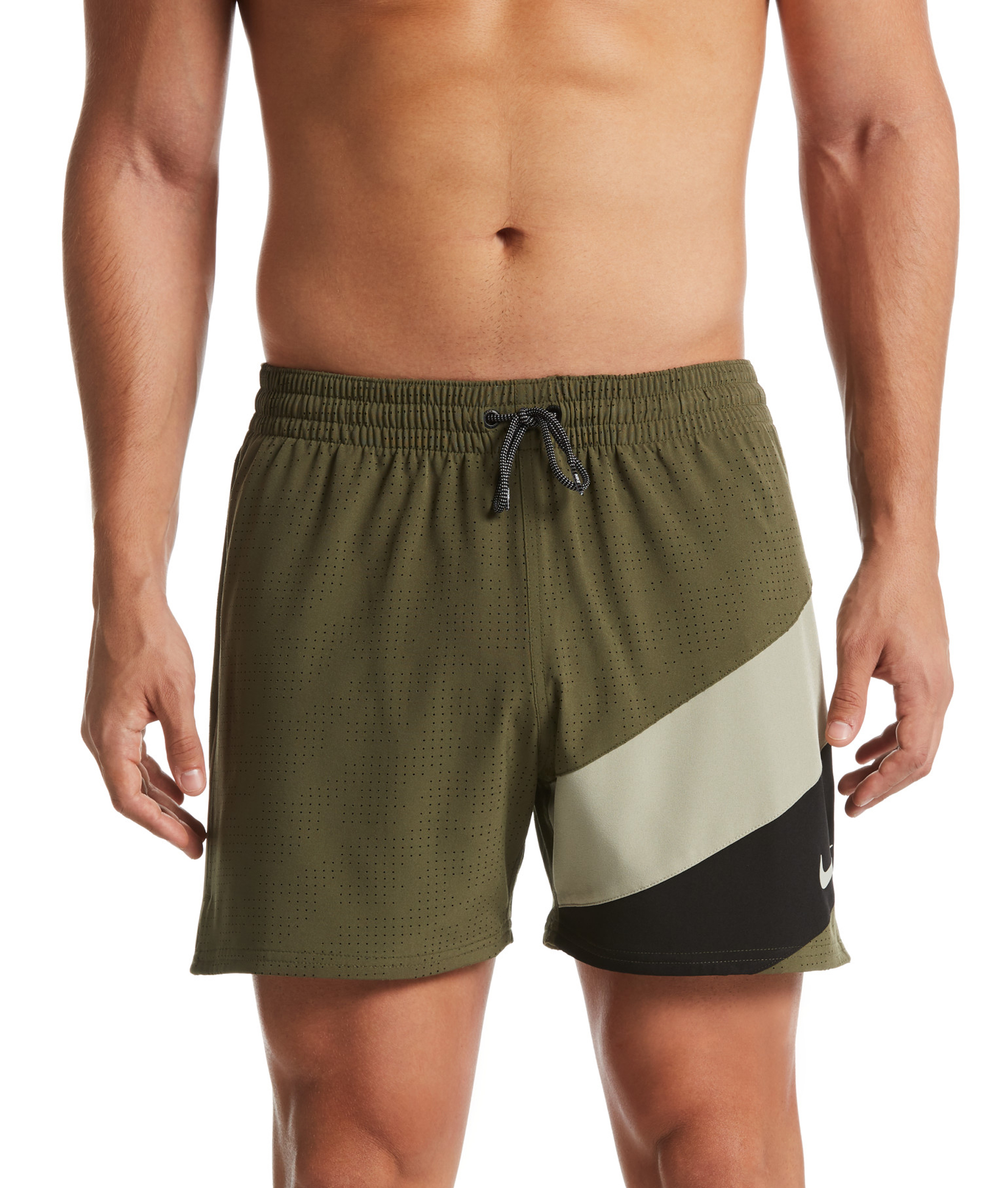 Nike Mens 5 Volley Watershort - Medium Olive