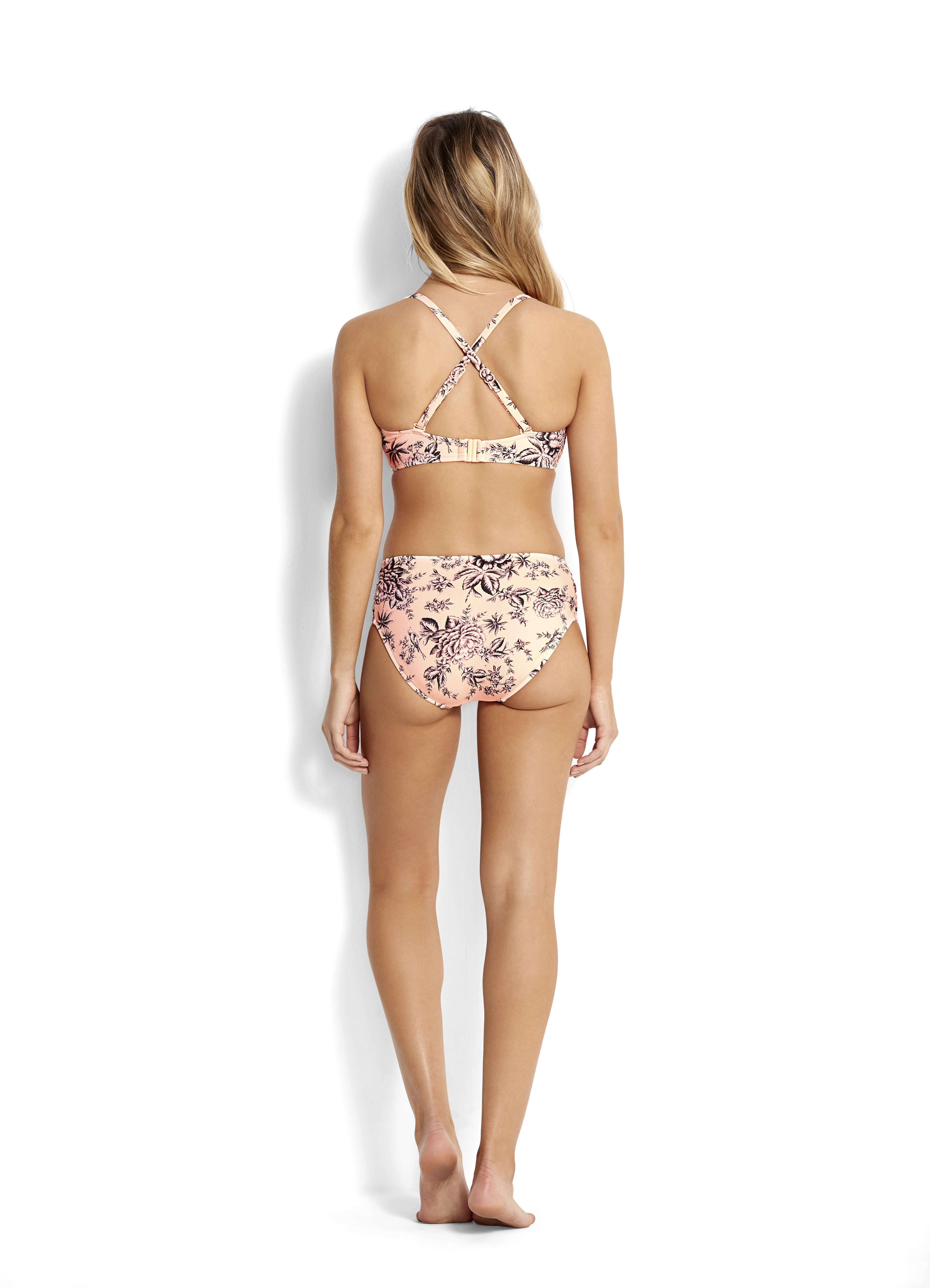 f296a3c643 Seafolly Love Bird F Cup Halter Bikini Top - Peach
