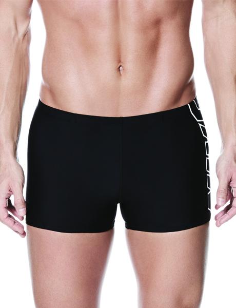 Nike Logo Square Leg Aquashort - Black