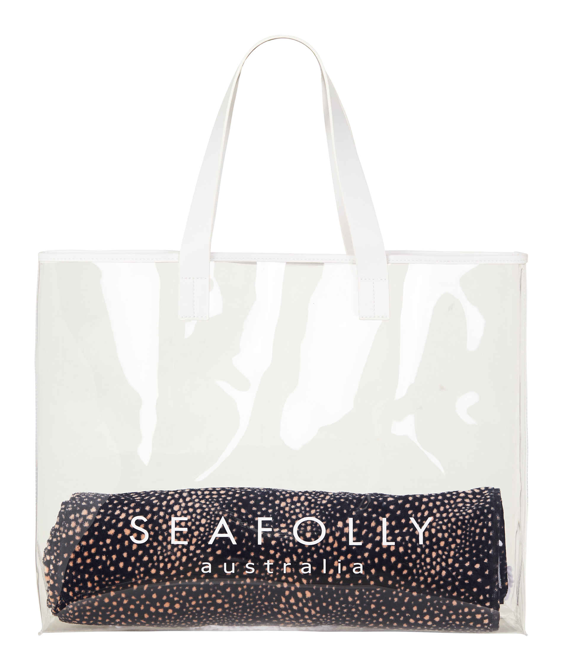Seafolly Carried Away Translucent Tote