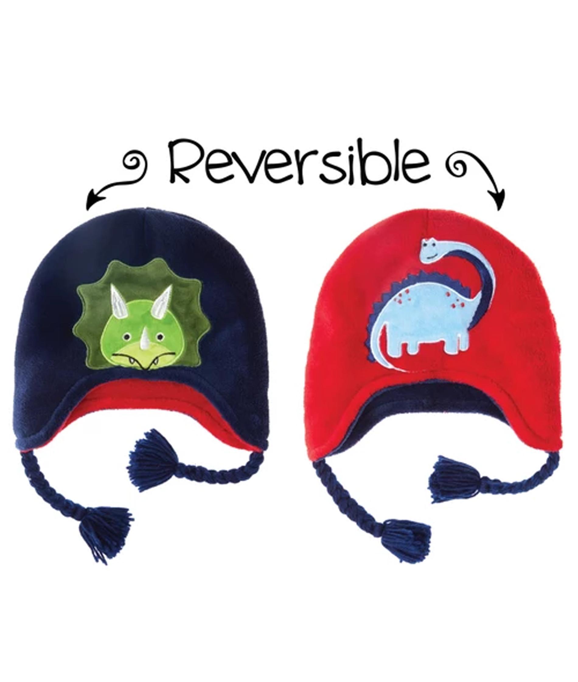 Flapjack Kids Toddler Winter Hat - Dinosaurs