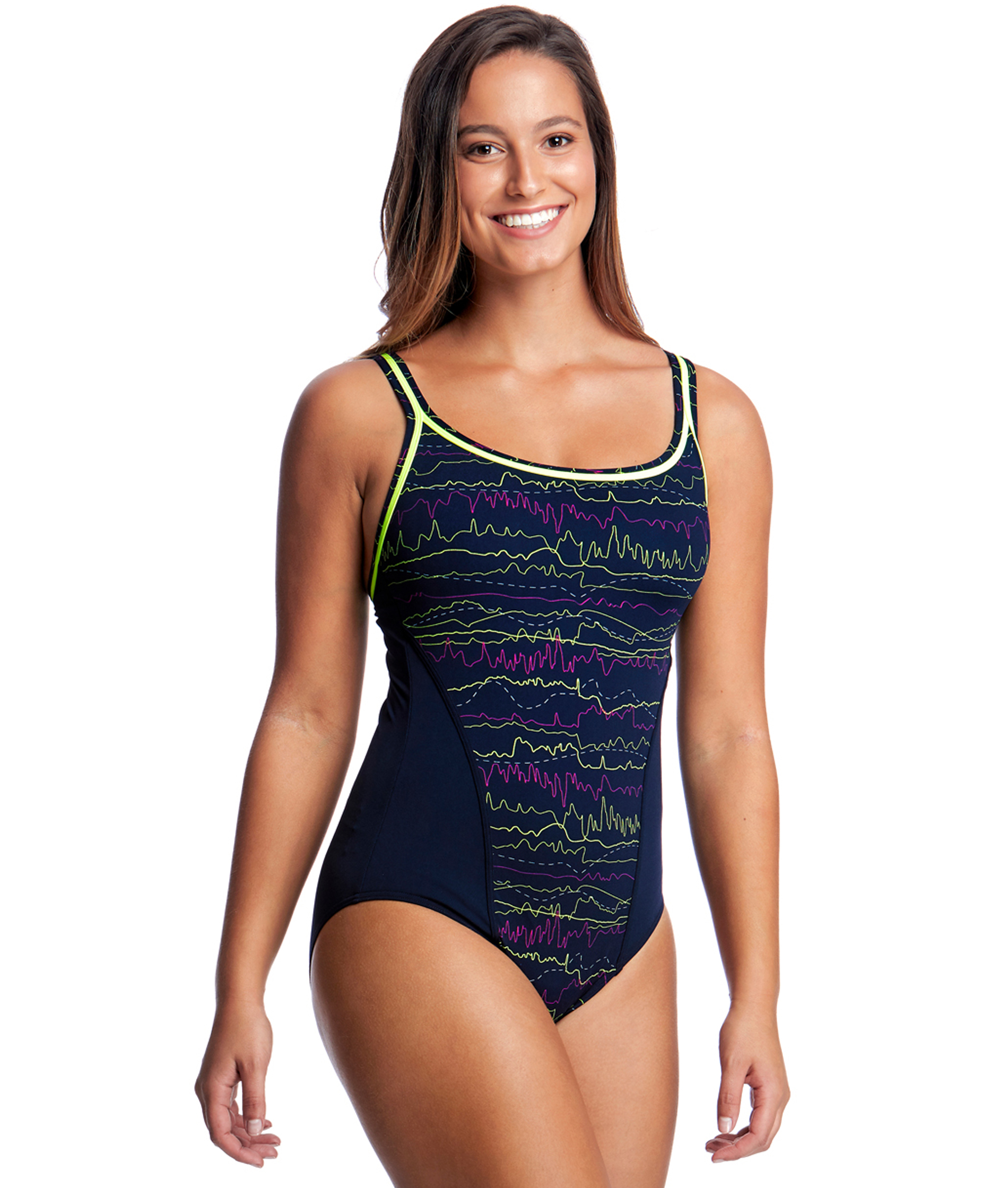 Funkita Ladies Sound System Locked In Lucy One Piece