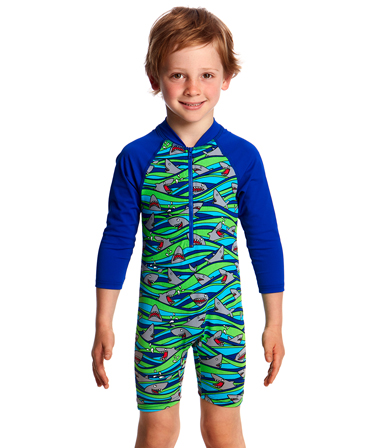 Funky Trunks Toddler Boys Little Nipper Go Jump Suit