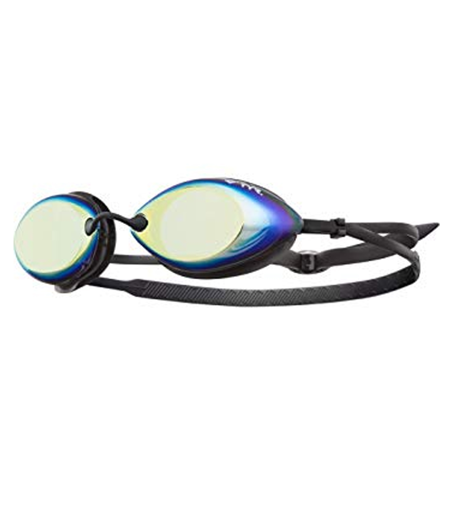 TYR Tracer-X Racing Mirrored Adult Goggles - Black/Gold